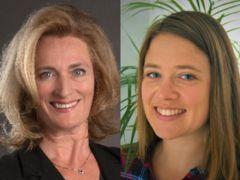 Neue Schulleiterinnen: links Marina Monti, rechts Maja Käser.