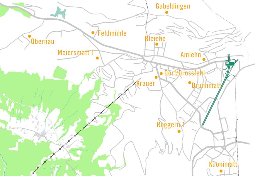 Primarschule Standorte Kriens